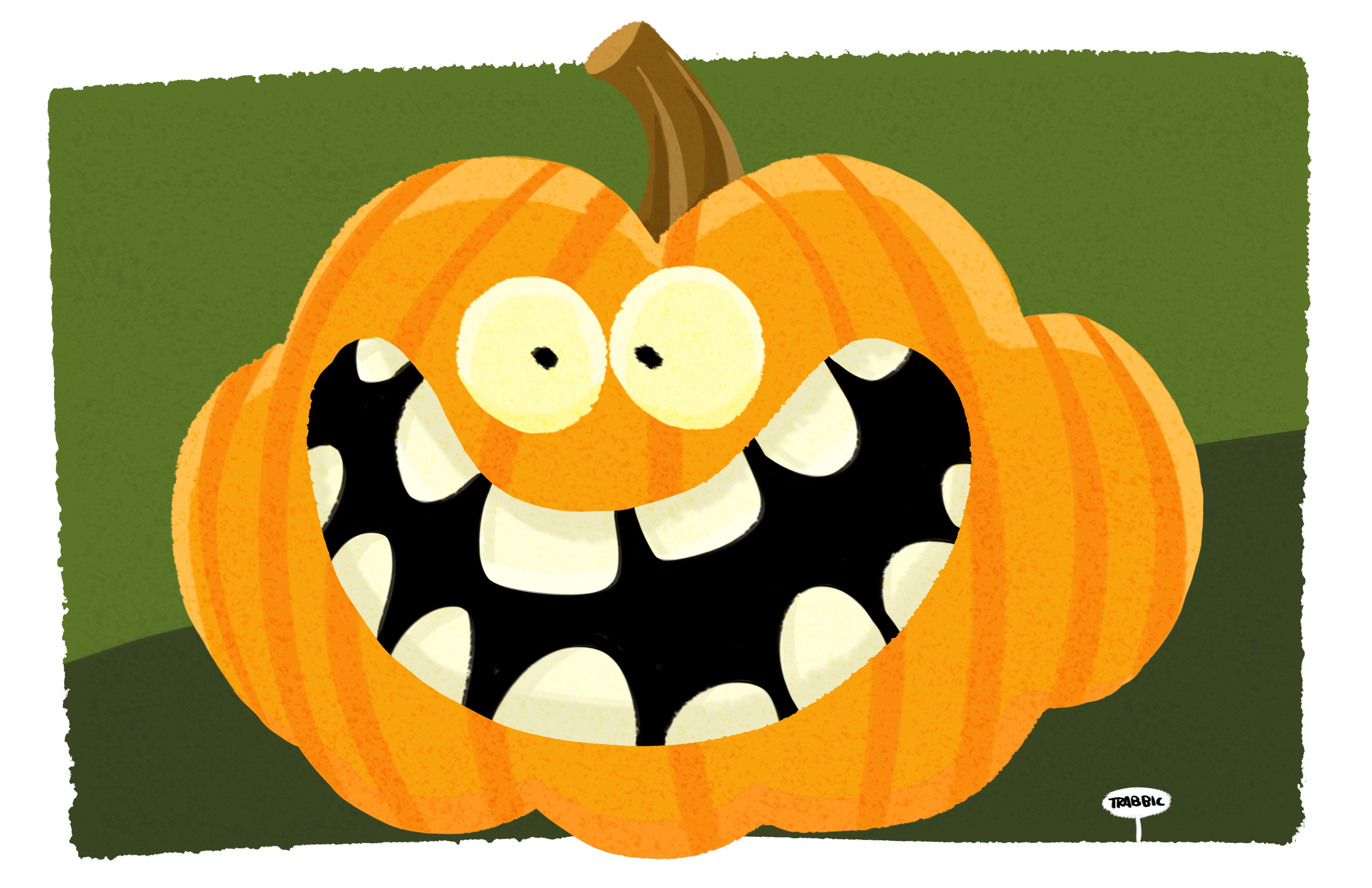 pumpkin the artwork of john trabbic iii